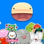 Facebook Stickered app