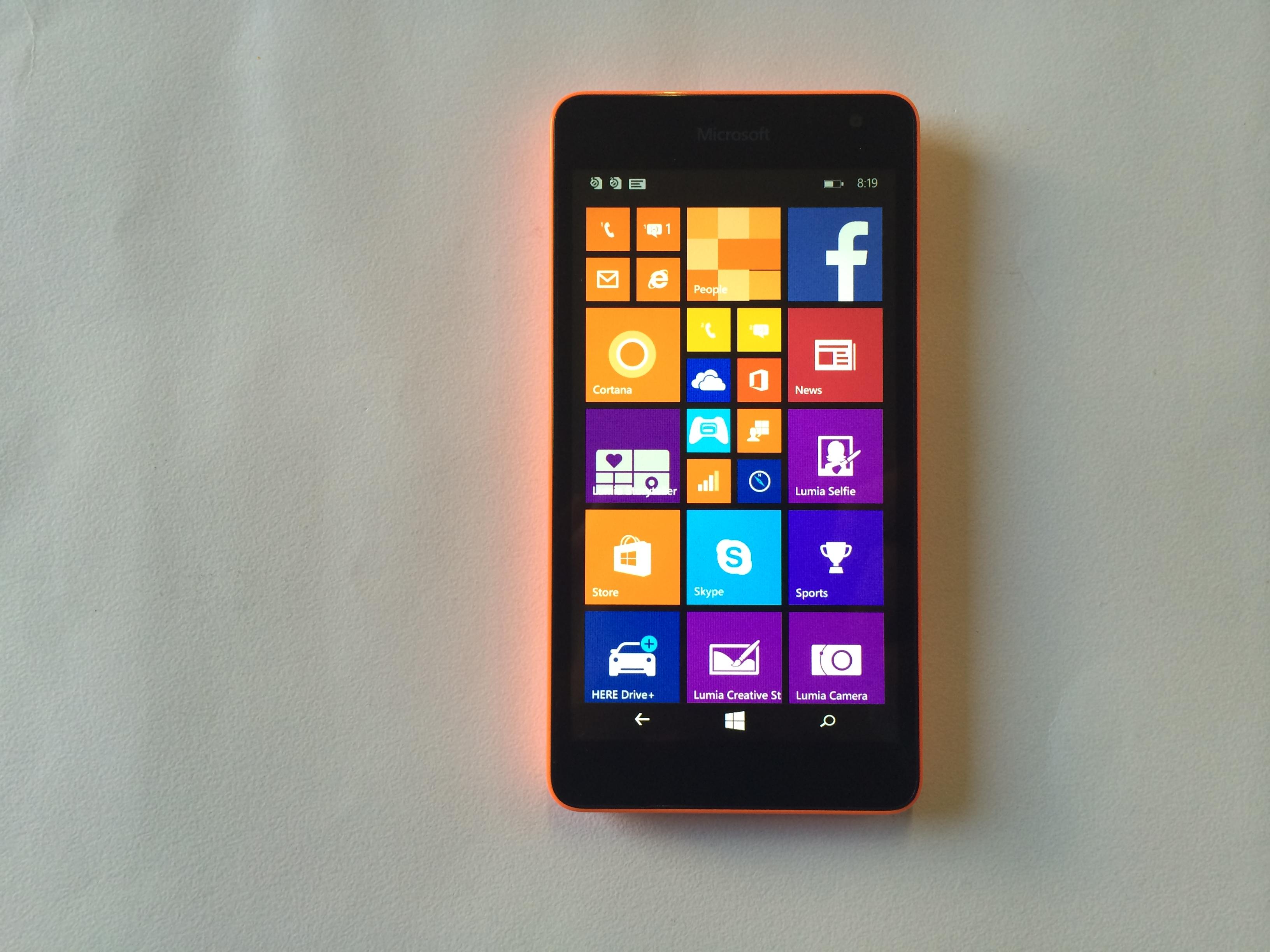 Microsoft Lumia 535 Hands On Review Microsoft U
