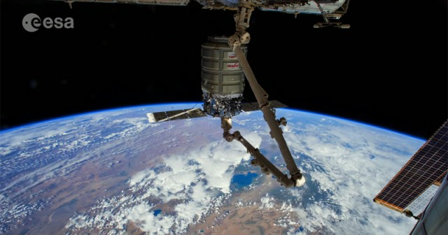 ISS Time-lapse video