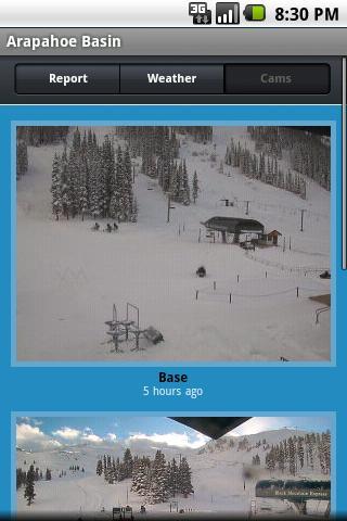 ski and snow report