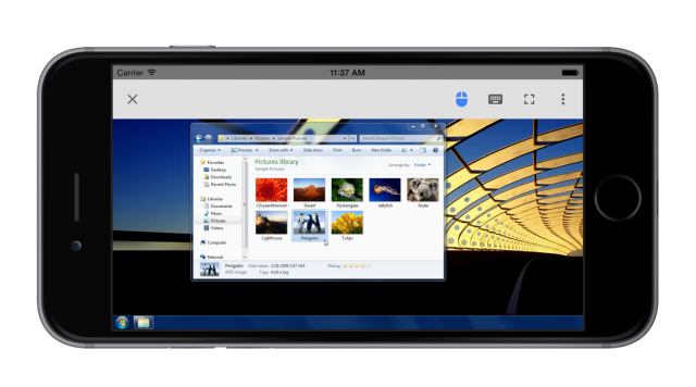 Chrome Remote Desktop for iOS