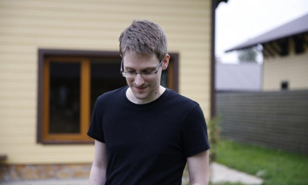Edward Snowden in Citizenfour