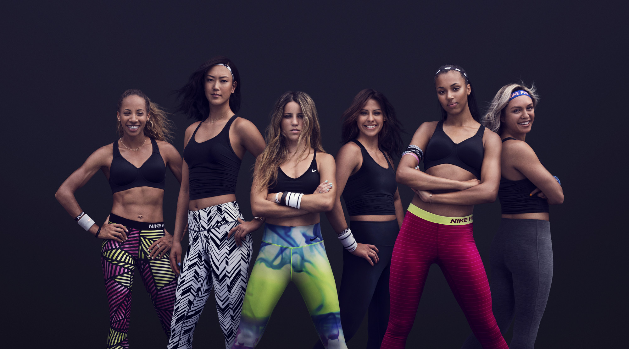 Lea Wallace, Michelle Wie, Leticia Bufoni, Marlen Esparza, Morgan Lake