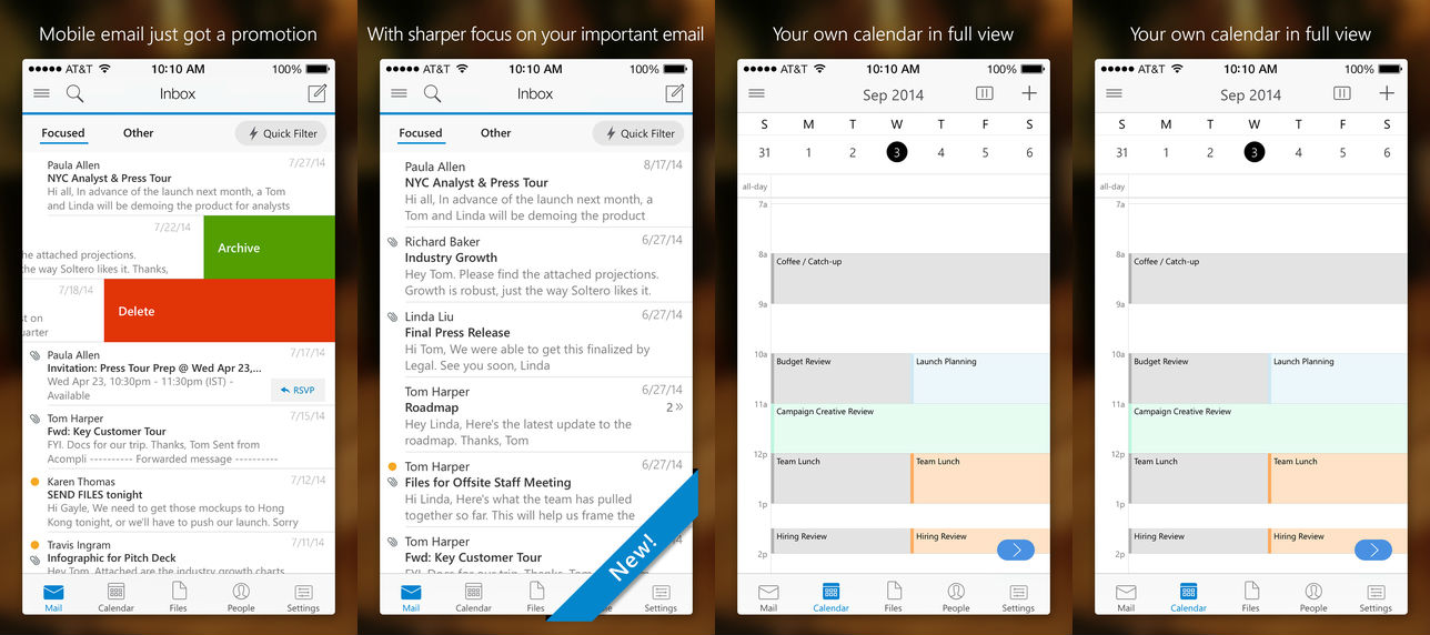 MS Outlook for iOS