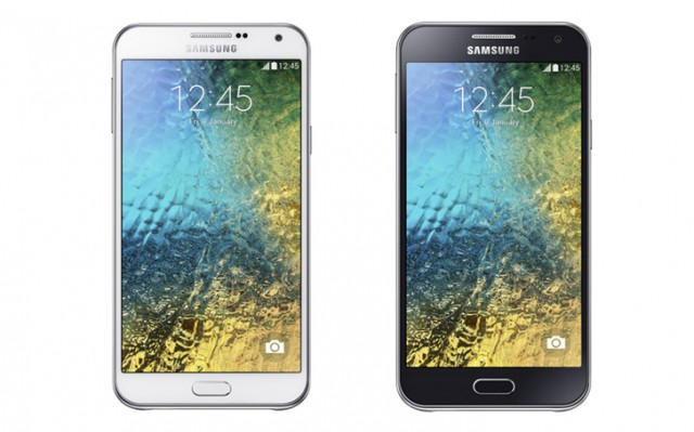 Samsun Galaxy E7 and E5
