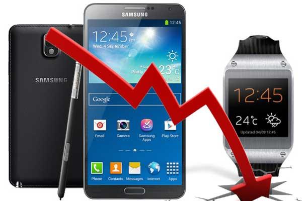 Samsung-down-trend