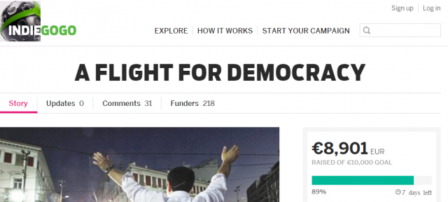 indiegogo-syriza-fans-flight-for-democracy