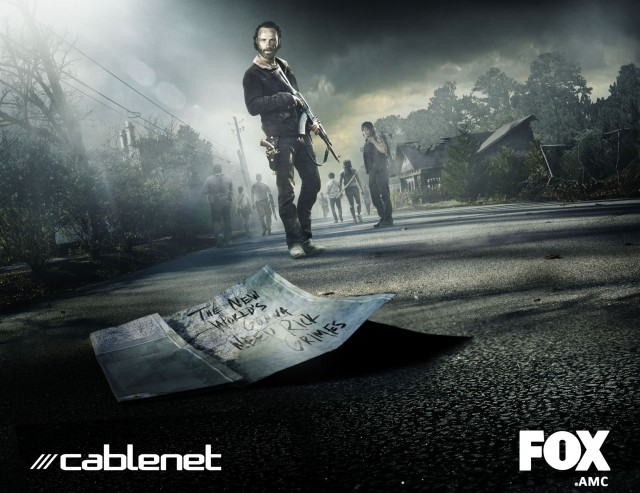 The Walking Dead 5 FOX cablenet