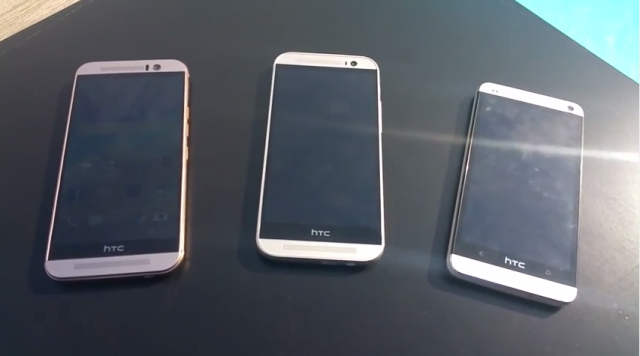 htc one m9 hands-on leaked