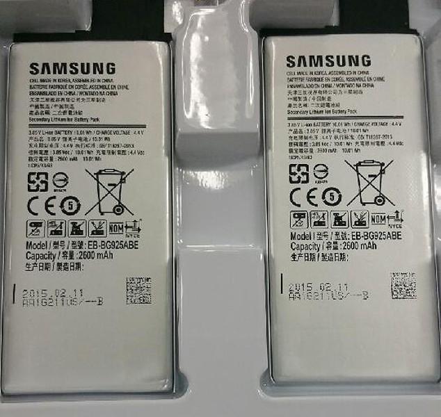 samsung galaxy s6 battery
