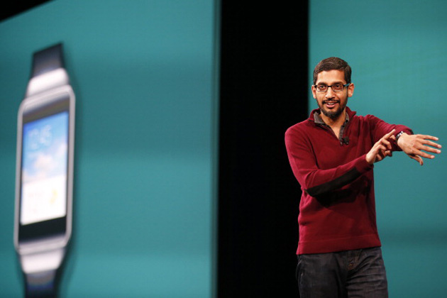 sundar-pichai-android-wear-stephen-lam-getty