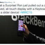 Blackberry dual-edged twitter