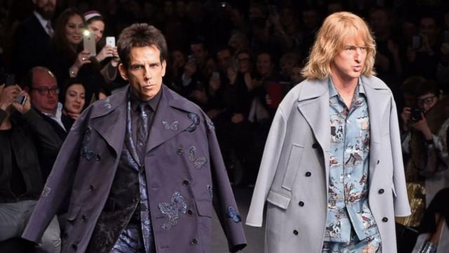 Ben Stiller and Owen Wilson Launch Zoolander 2 Paris Fashion Week