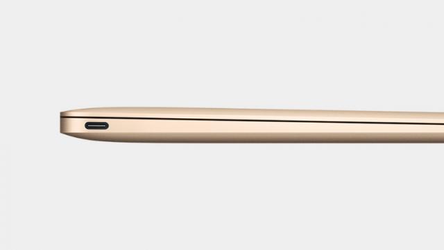 New MacBook USB Type-C