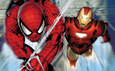 spiderman-iron-man-