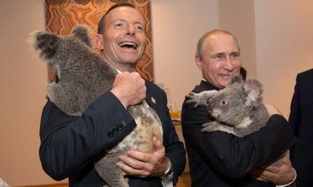 tony abbott vladimir putin g20 australia