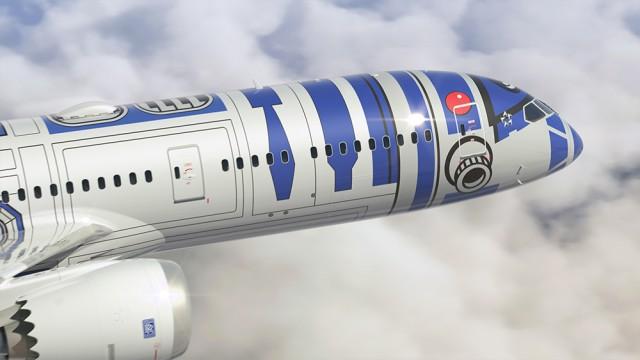 ANA R2-D2 Jet