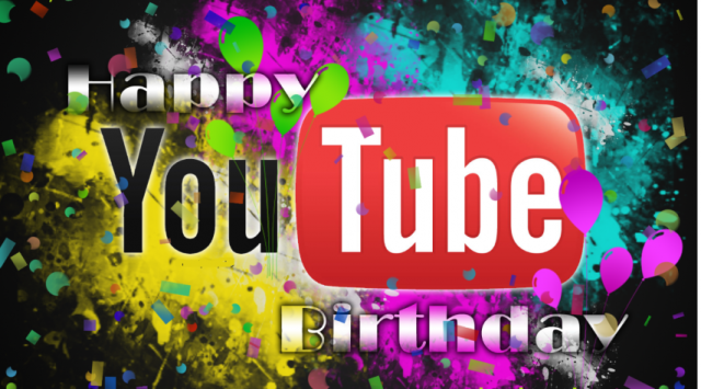 Happy Birthday YouTube Ready