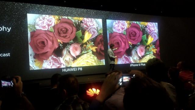 Huawei P8 camera 2