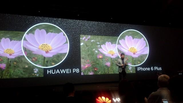 Huawei P8 camera 3