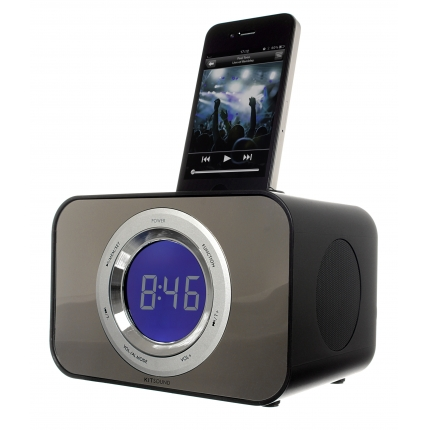 KitSound Clock Radio Dock