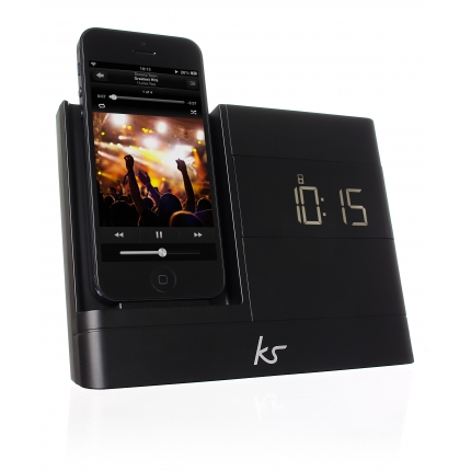 KitSound X-Dock 2 Lightning Connector Clock Radio Dock