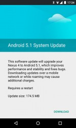 android 5-1 system update