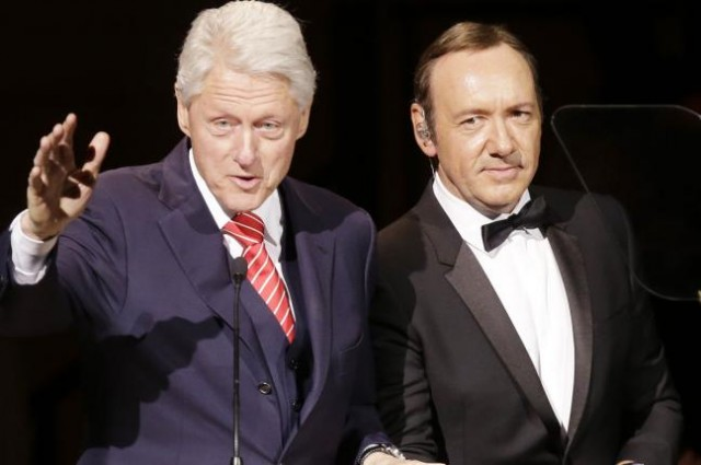 bill clinton-Kevin-Spacey-