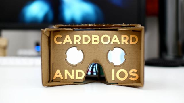 Cardboard And IOs
