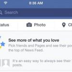 Facebook News Feed control