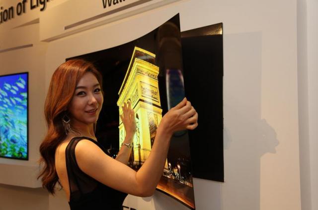 LG OLED TV wallpaper concept