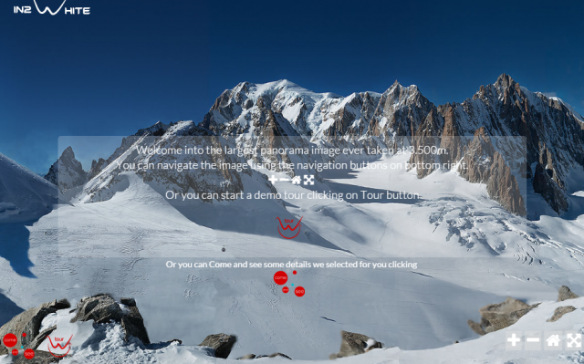 Mont Blanc panorama worlds largest ever photograph