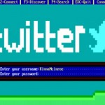 Twitter MS DOS