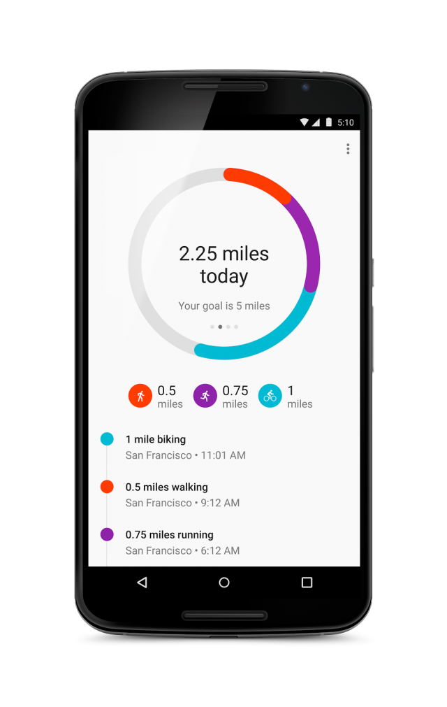 google fit calories2
