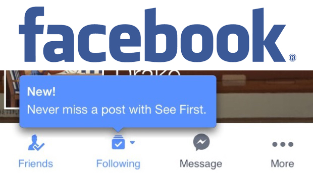Facebook see first