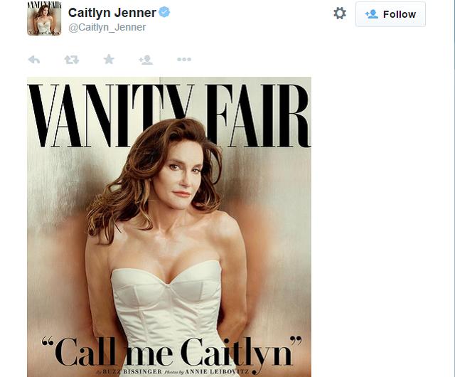 caitlyn jenner twitter record
