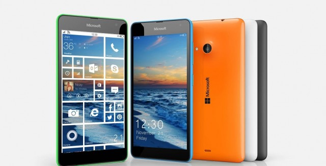 Lumia Phones Windows 10