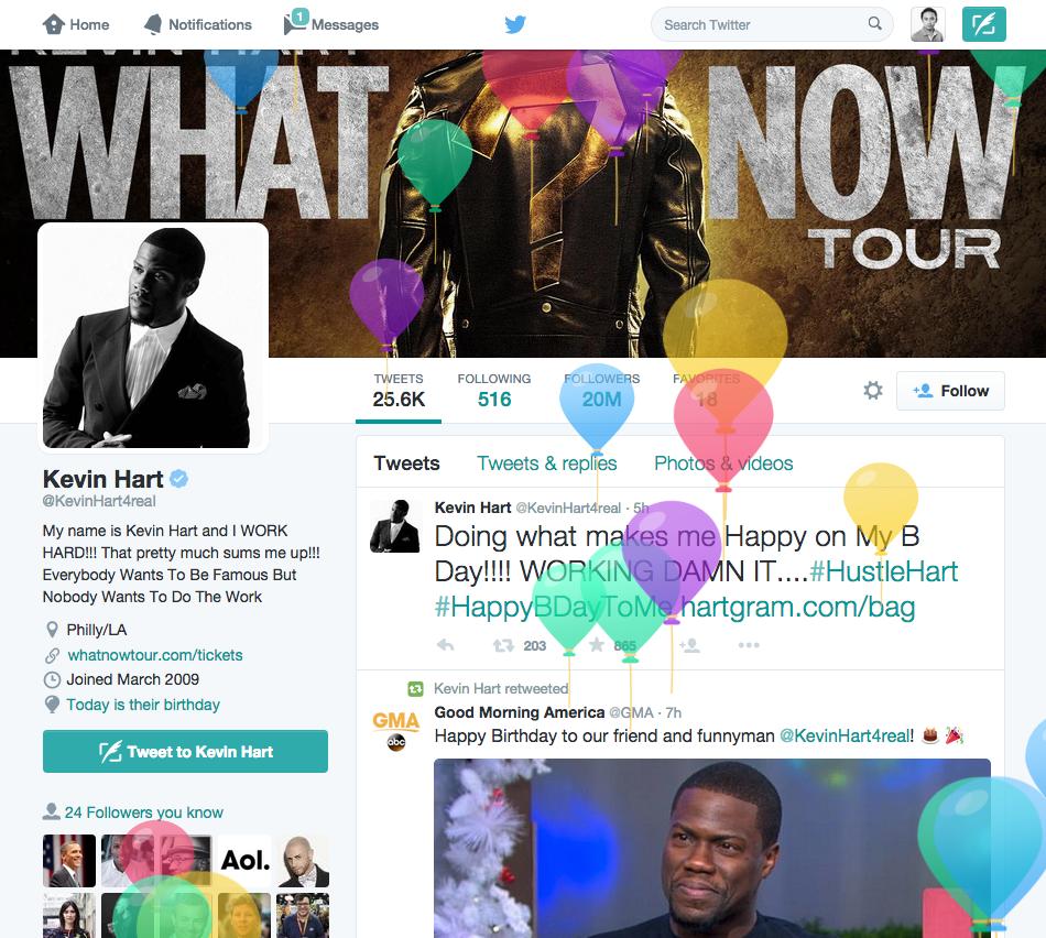 Twitter μπαλόνια