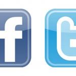 facebook και twitter