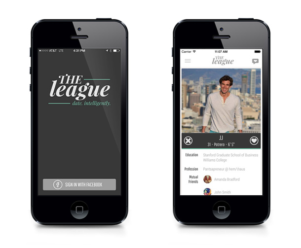 the league dating app linkedin Enter the league, a free dating app for aspiring power couples looking for an equal partnership related story peanut – the tinder for moms we look for signals of drive in everyone`s application, says founder and ceo, amanda bradford we require facebook and linkedin [] we block you from your.