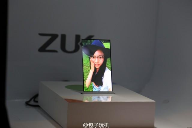 ZUK-transparent-screen-phone-prototype 2