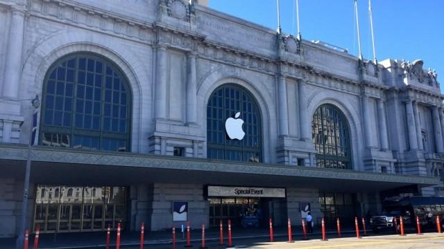 Το Bill Graham Civic Auditorium στο San Francisco ετοιμάζεται για το μεγάλο event της Apple / Φωτογραφία από το Mashable