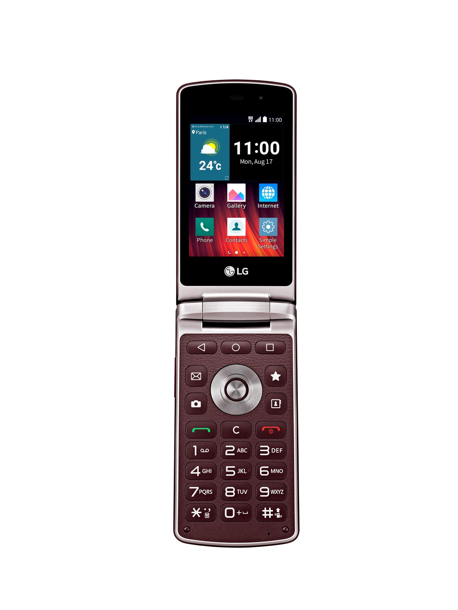 Το νέο LG Wine Smart, το πρώτο flip-phone 4G Smartphone