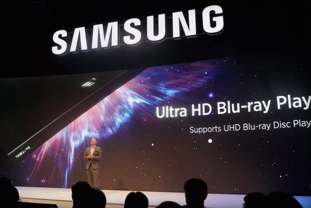 samsung ultra hd blu ray player