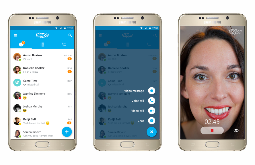 skype για android