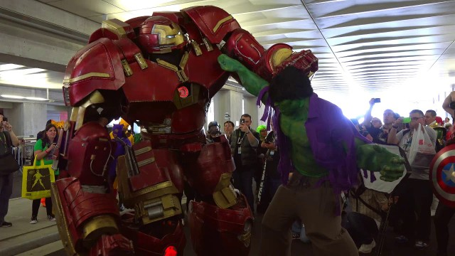Comic Con 2015 Hulkbuster Cosplay