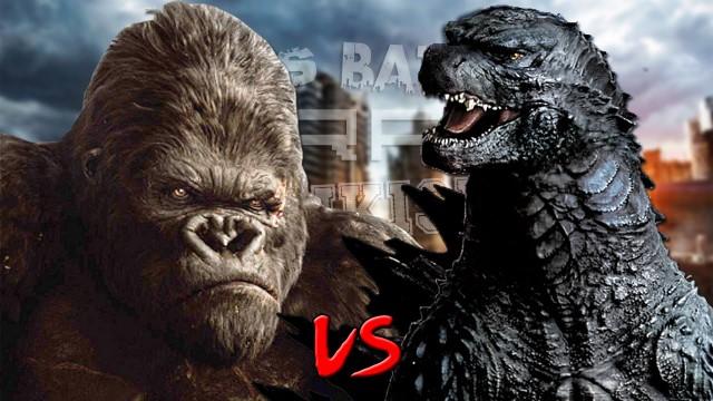 Godzilla vs King Kong.