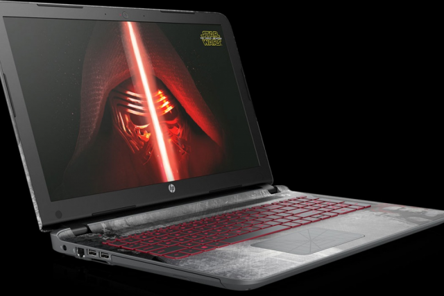 HP Star Wars laptop 1