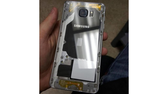 modded Samsung Galaxy Note 5
