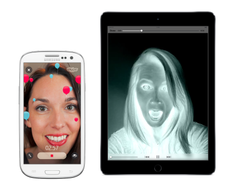 video message filters